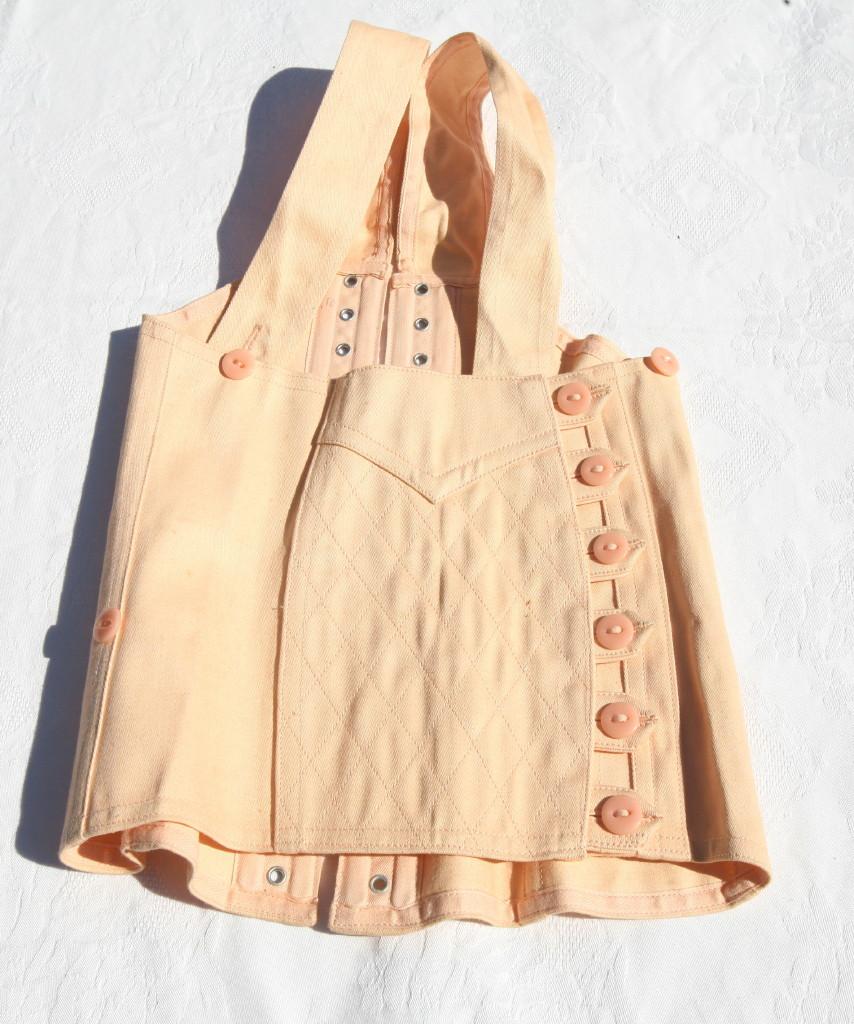 Corset brassi re ancien fillette rare coton neuf lacet ebay - Frais notaire achat ancien ...